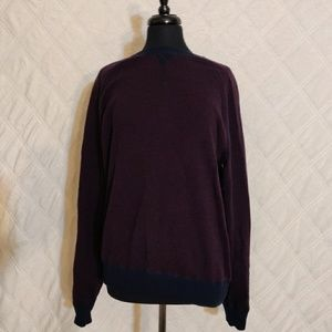 Vince Mens Birdseye Crewneck Sweater